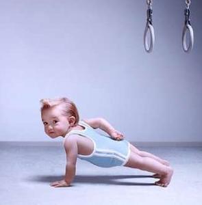 baby pushup